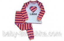 Піжами махрові для дівчаток 86-116