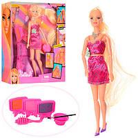 """Кукла 66832 """"Парикмахер"""" аксессуары для окрашивания волос, в коробке"""