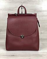 Рюкзак сумка молодежный WeLassie  Эшби бордовый, фото 1