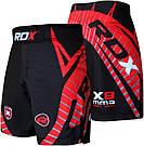 Шорты MMA RDX X8 Black S, фото 2