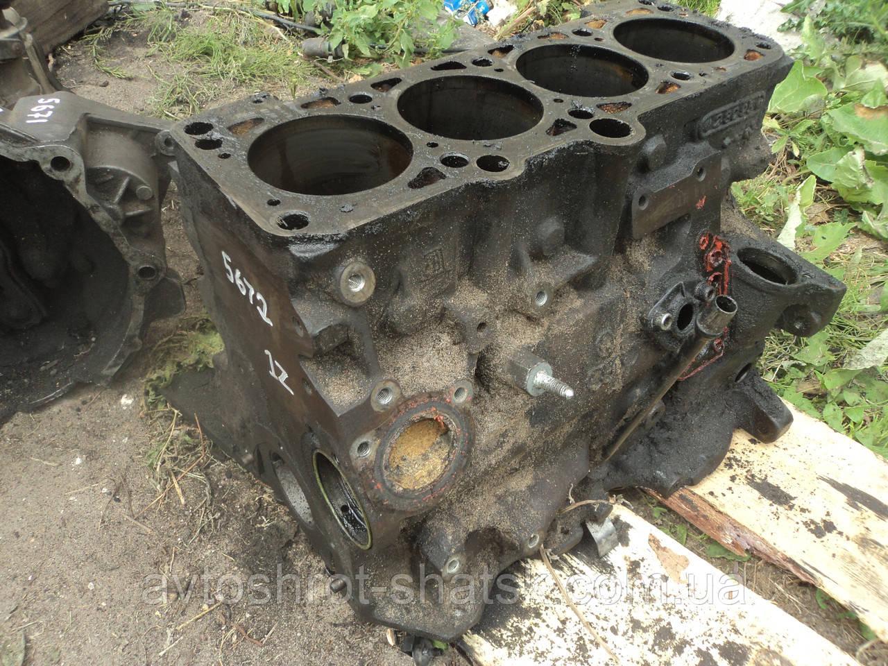 Б/у блок двигателя пассат б4