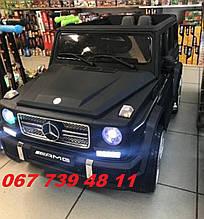 Детский электромобиль Mercedes M 3567EBLRМ синий, черный, красный