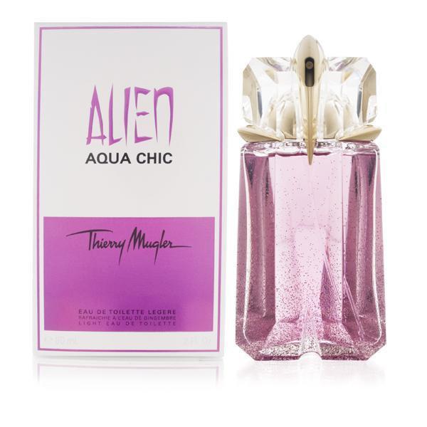 Женская туалетная вода Thierry Mugler Alien Aqua Chic (Тьери Мюглер Альен Аква Чик) 90 мл