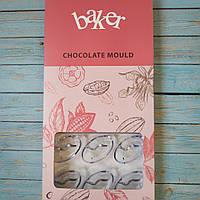 Поликарбонатная форма для шоколадных конфет №13