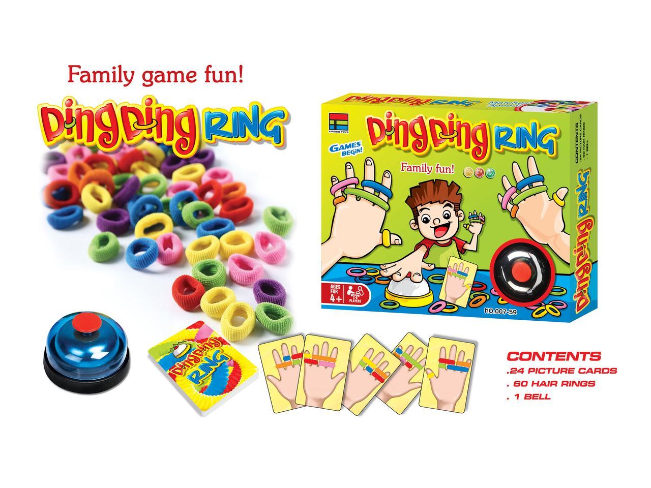 Веселая семейная игра Ding ding ring