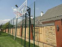 Баскетбольная стойка на двух опорах под щит Фиба, фото 1