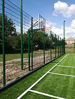 Баскетбольна стійка на одній опорі, фото 1