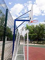 Баскетбольная стойка на одной опоре, фото 1