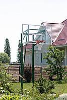 Баскетбольна стійка на трьох опорах