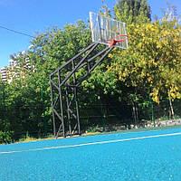 Баскетбольна стійка на чотирьох опорах, фото 1