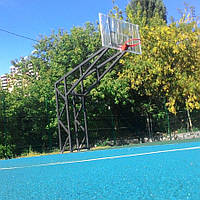 Баскетбольна стійка на чотирьох опорах