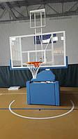 Баскетбольная стойка профессиональная мобильная, фото 1