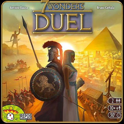 Настольная игра 7 Wonders: Duel (7 Чудес Дуэль), фото 2