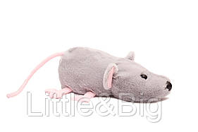 Мягкая игрушка Крыса серая 28 см