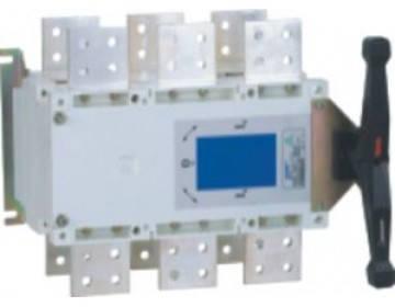 Рубильник перекидной NH40-1000/3CSW, 3P, 1000А, I-0-II , выносная рукоятка, Chint, фото 2