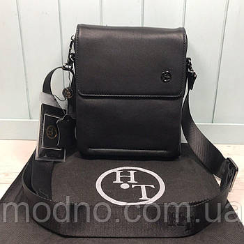 Мужская кожаная сумка через плечо H.T. Leather