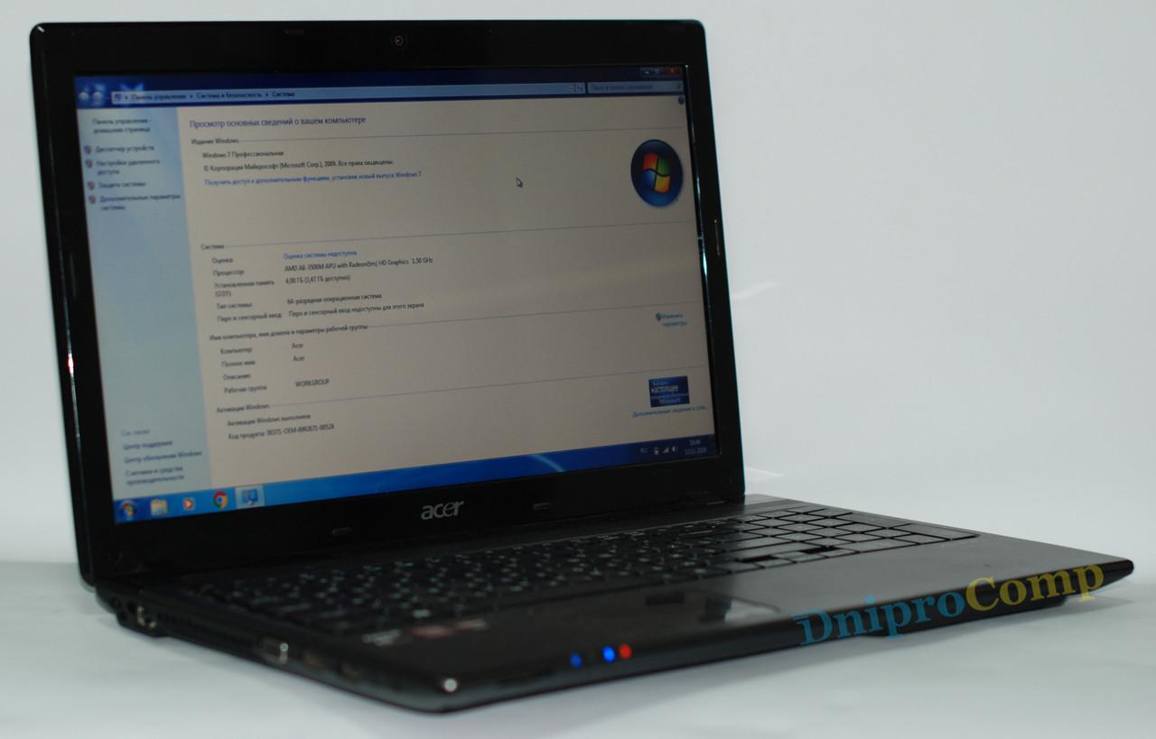 Ноутбук Acer Aspire 5560G A8-3500M/4/250/6620G - Class A-