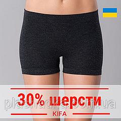 Термо-панталоны женские шерстяные, термобелье шорты KIFA