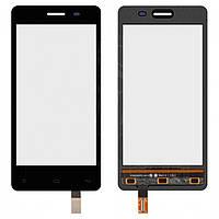 Touchscreen (сенсорный экран) для Fly IQ4403 Energie 3, черный, оригинал