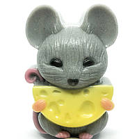 Мыло ручной работы Мышка с сыром Naturalina