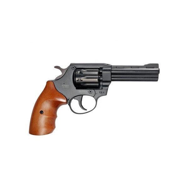 Револьвер под патрон флобера сафари рф-441 с буковой рукоятью