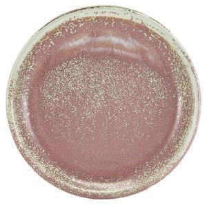 Тарелка круглая 24 см, Terra Porcelain Rose Pink