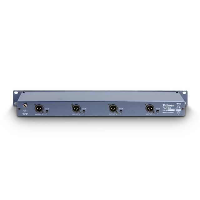 Активный DI-Box 4-канала с трансформаторной развязкой Palmer Pro PAN08