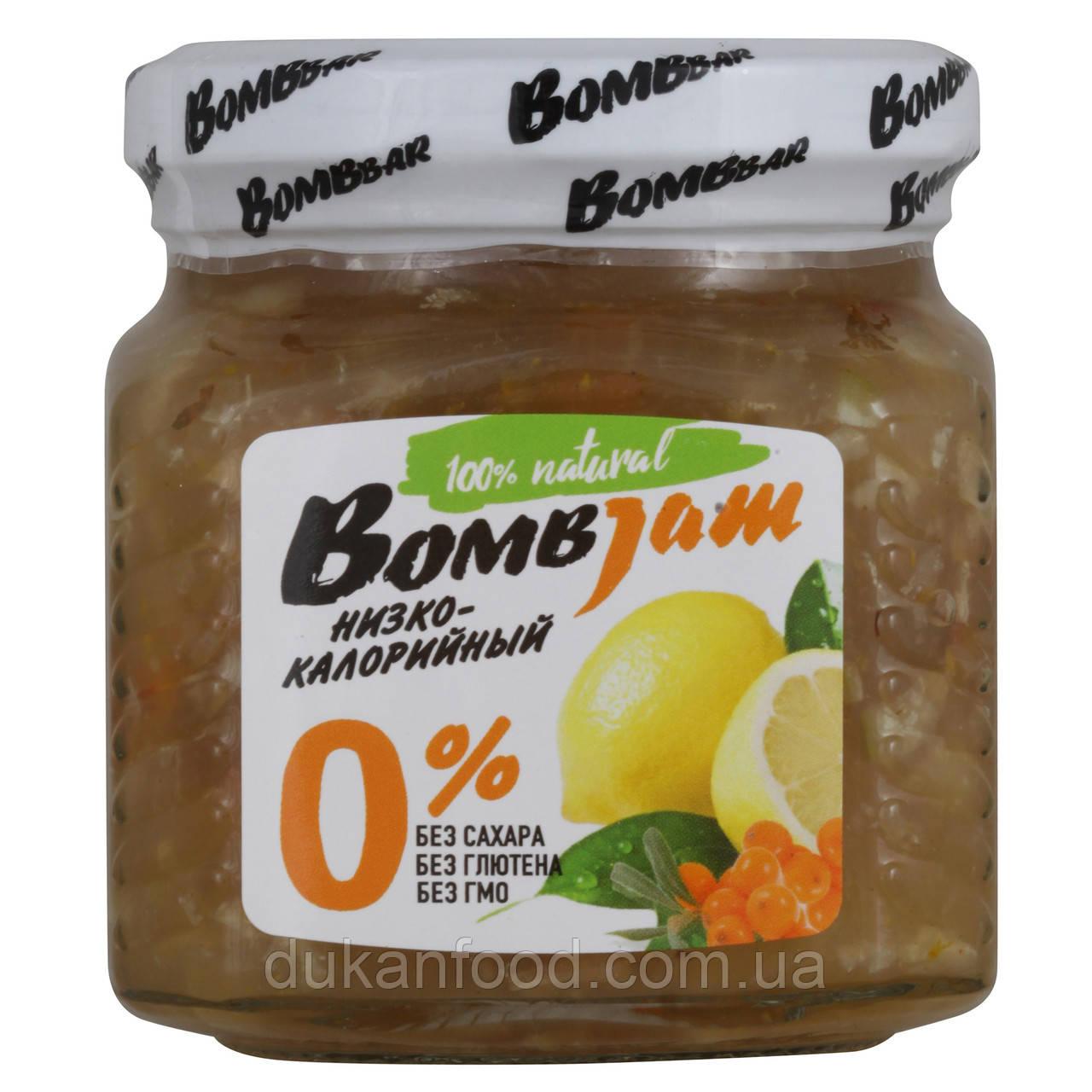 "BomBJam ""Лимон-облепиха"" низкокалорийный джем"
