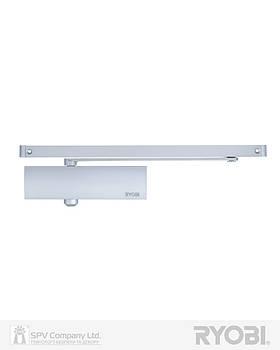 Доводчик для дверей сріблястий RYOBI 1200 D-1200T SILVER SLD_HO_ARM EN_3 60кг 950мм