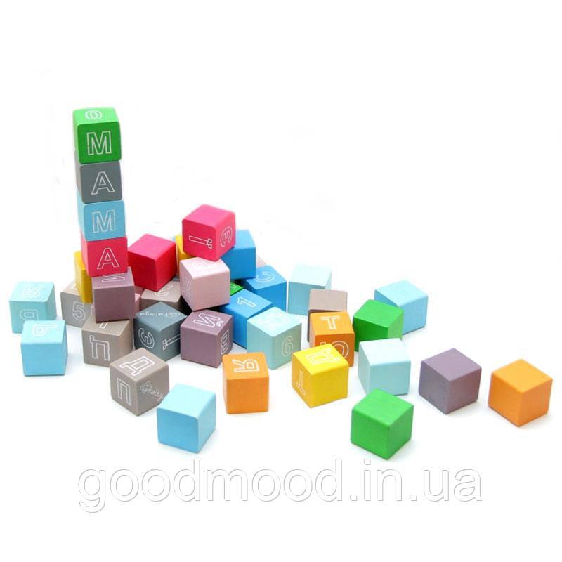 Кубики кольорові з літерами ВП 022/2 Вінні Пух
