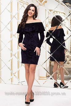 Коктейльное платье 6295e Фиолетовый S(р)