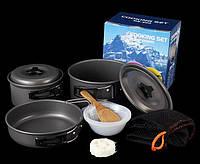 Набор посуды для кемпинга Cooking Set Campsor DS-300