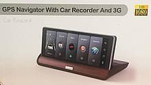 Видеорегистратор-навигатор Android DVR T7 (JUNSUN E26) , GPS
