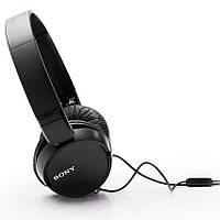 Наушники-гарнитура Sony MDR-ZX110AP (Black)