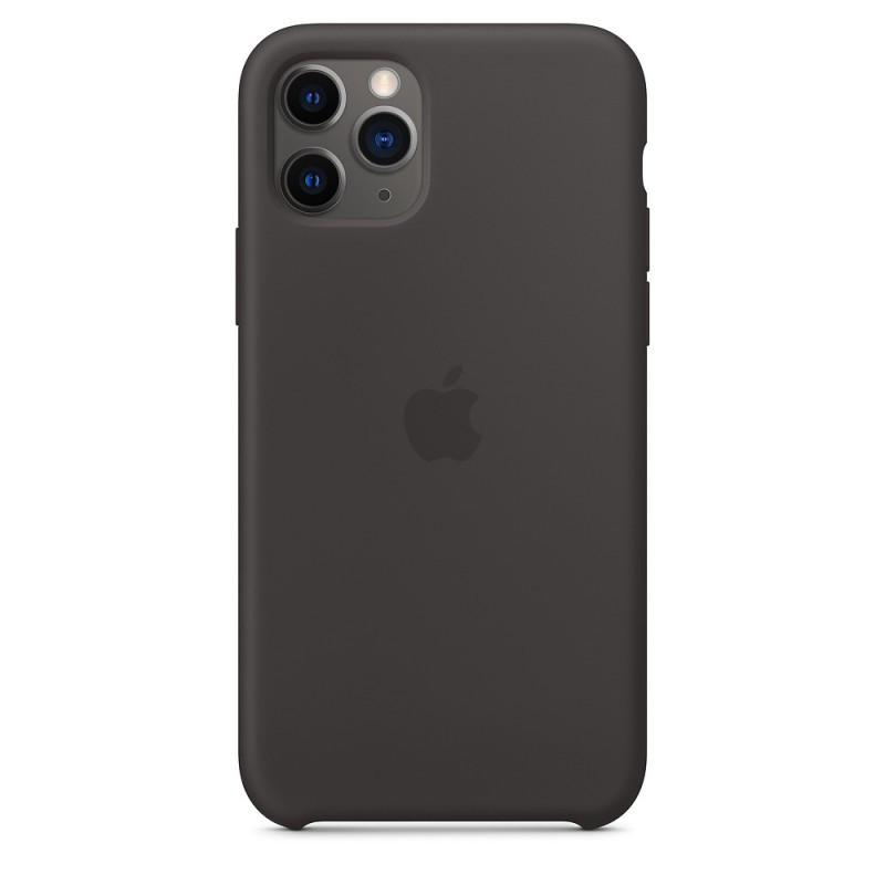 Armor Standart Silicone Case чехол для iPhone 11 Pro - Black