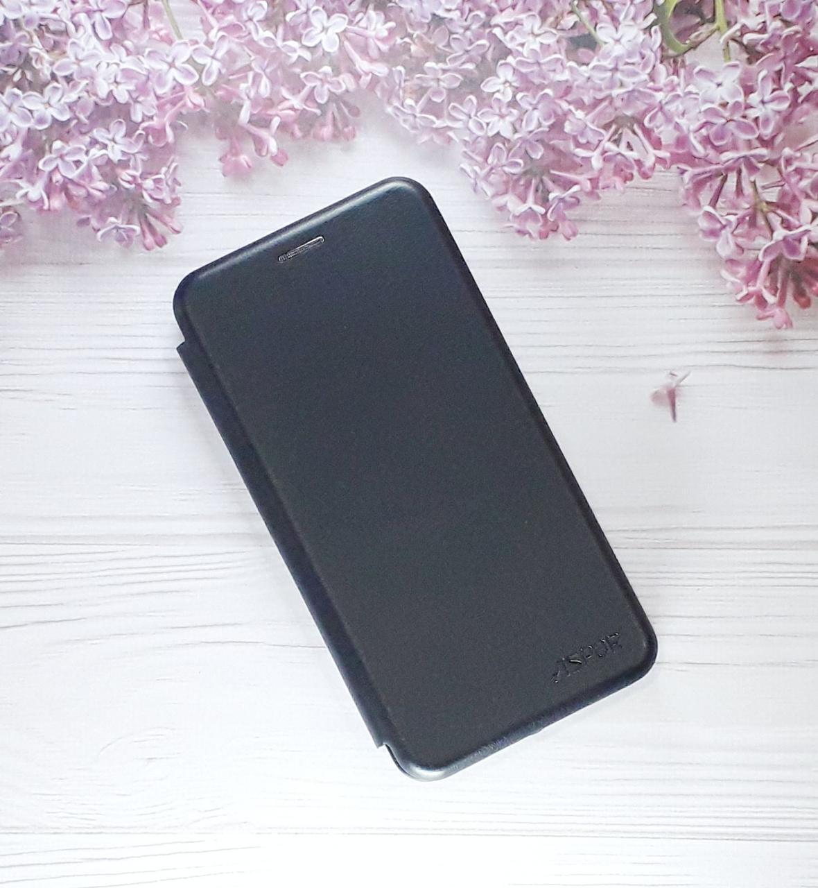 Чехол - книжка (с визитницей) для Huawei PSmart (2019), Black