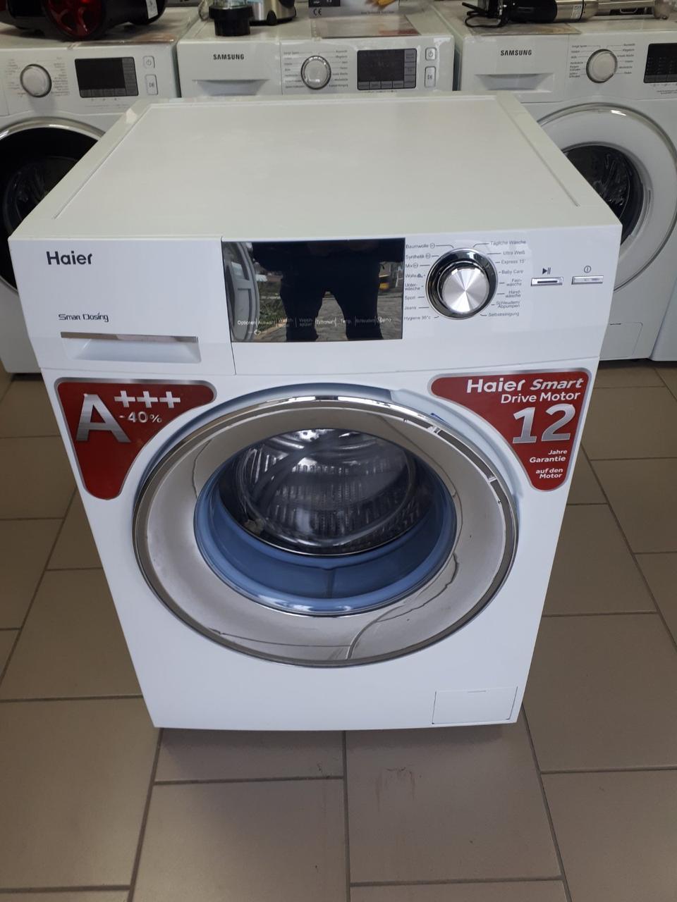 Стиральная/ пральна машина 8кг А+++ с Германии Haier HW80-BD1626