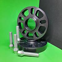 Проставки колесные с болтами 25мм/ psd 5х100х112/ dia 57,1 (Шкода, Skoda, VW, Фольксваген, Ауди)