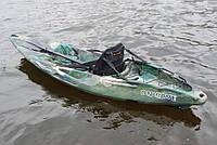 Каяк RIVERDAY OnWave-300, туристический (одноместный), камуфляж