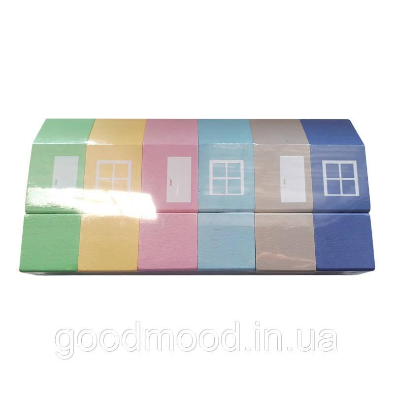 Набір будиночків кольорових ВП-025/1 ТМ  Вінні Пух