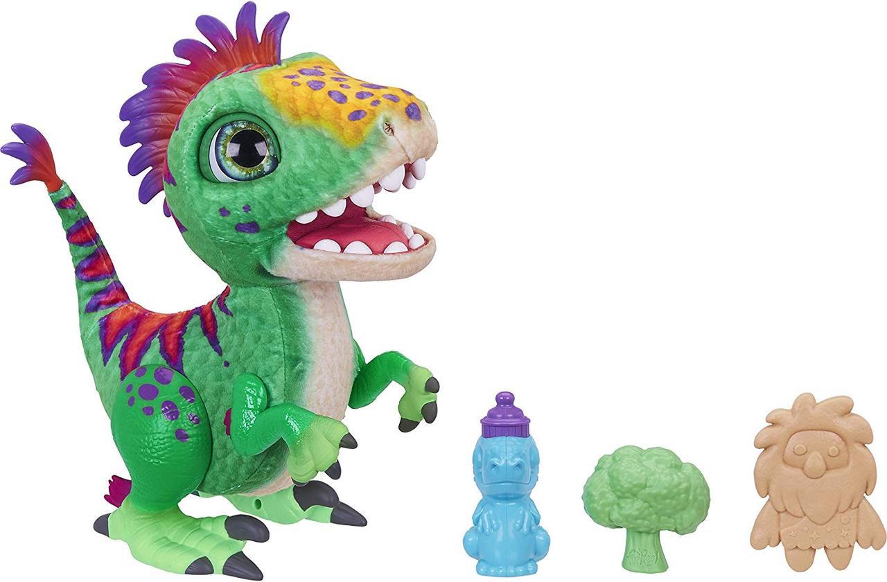 Интерактивный Малыш Динозавр Дино Рекс FurReal Munchin Rex Hasbro