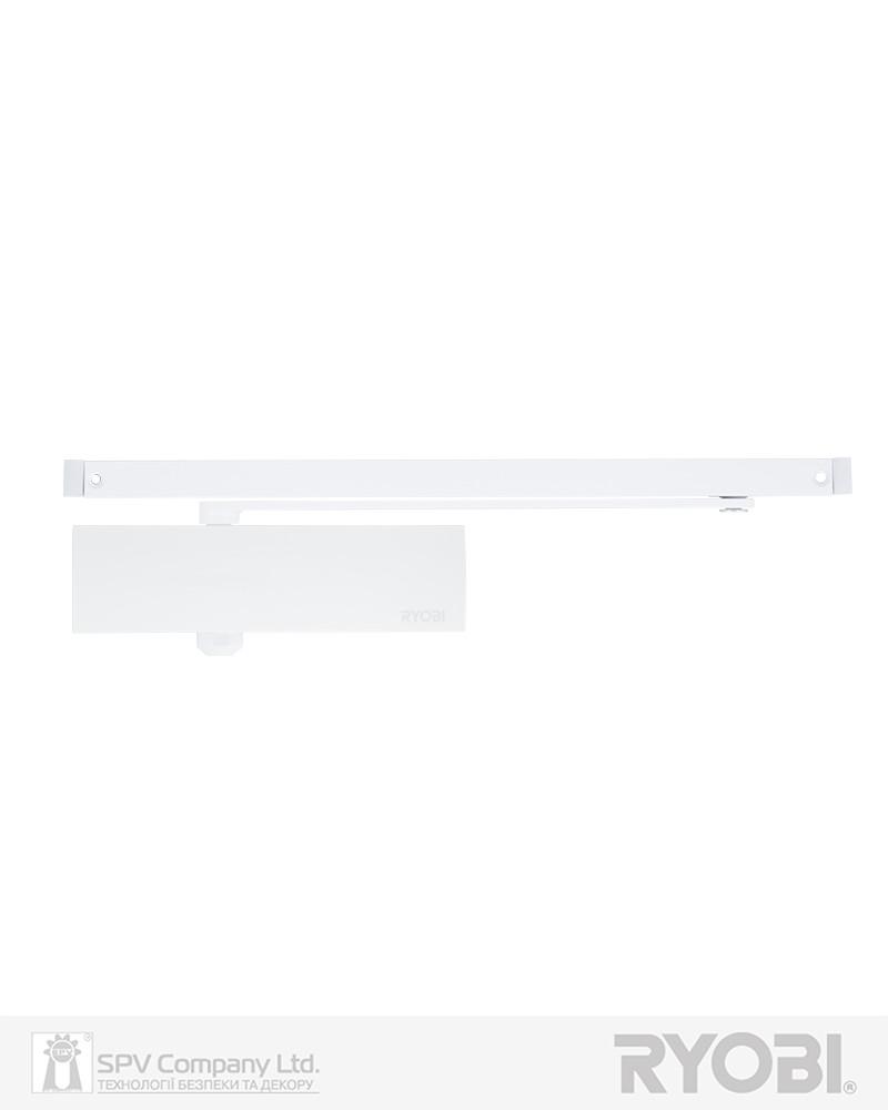 Доводчик дверной со скользящей тягой RYOBI 1200 D-1200T WHITE BC SLD_HO_ARM EN_3 60кг 950мм