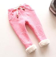 Теплые детские штаны 80, 90, 100, фото 1