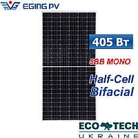 Сонячна панель Eging PV EG-405M72-HD/BF-DG (mono, half cell, bifacial)