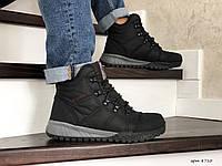 Мужские зимние высокие кроссовки ботинки Columbia,черные