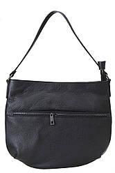 SIDONIA черная женская кожаная сумка крос боди Divas Bag