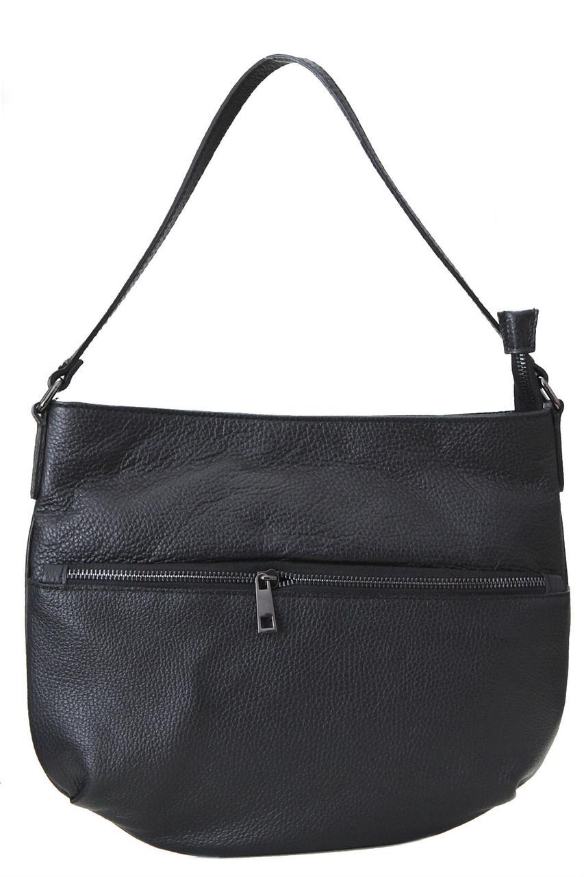 Женская кожаная сумка для всего SIDONIA Diva's Bag цвет черный