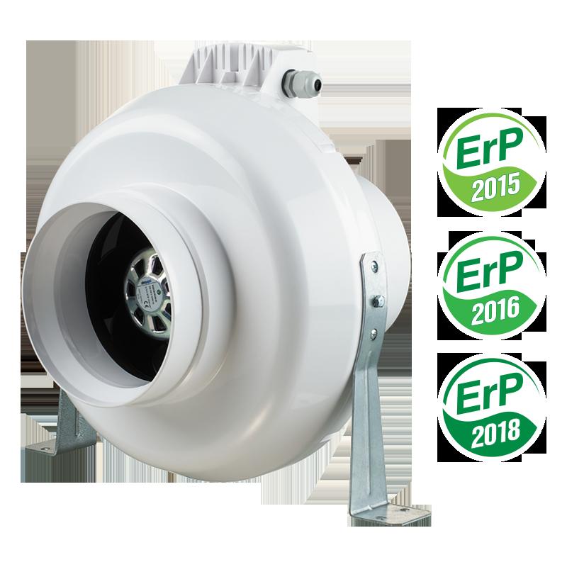 Вентилятор промисловий Вентс ВК 125 ЄС (бурий короб)