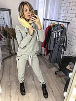 Теплый женский спортивный костюм, фото 1