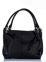 Жіноча шкіряна сумка ASIA diva's Bag колір чорний